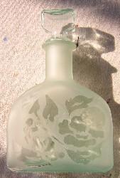 Bottiglia-sabbiata