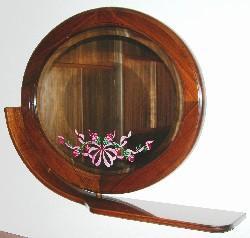 Specchio-ovale-in-cornice